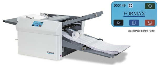Formax FD 346 Large Format touchscreen desktop paper folding machine paper folder