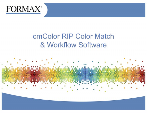 Formax cmColorRIP and ColorMatch Software - PaperFolder.com