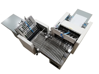 PaperFolder Cross Fold System paper folder & paper folding machine
