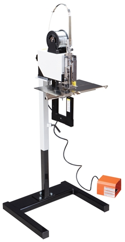 MBM Stitch Master Electric wire stitcher with foot pedal - PaperFolder.com