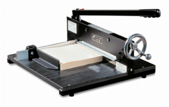 Martin Yale 7000E Commercial Quality 375-Sheet Paper Cutter - PaperFolder.com