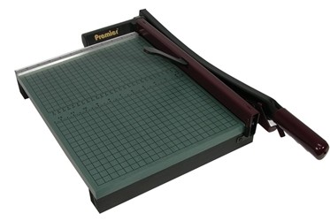"Premier 715 15"" StakCut Trimmer paper cutter & wood trimmer"