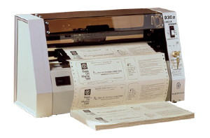 "Intimus 930A Continuous Form Signer, 3 1/2"" or 7"" - PaperFolder.com"